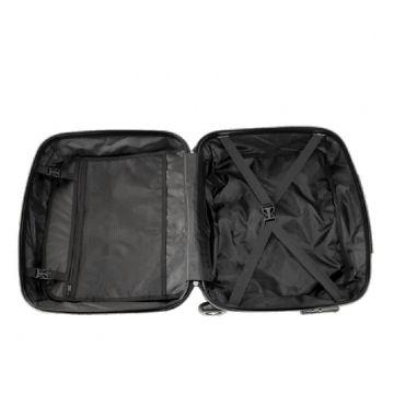 чемодан пластиковый, пилот-кейс (фиолетовый)