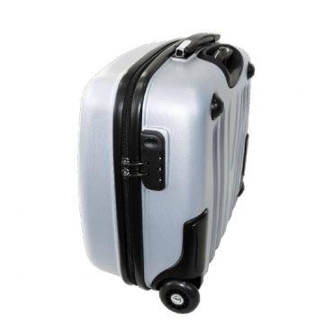 чемодан пилот кейс 419 светло-серый