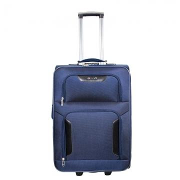 большой чемодан на 2-х колесах 91 литр (синий)