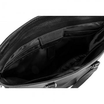 сумка-портфель для бумаг из натуральной кожи