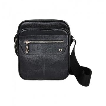 небольшая мужская сумка через плечо кожаная