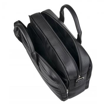 Широкая мужская сумка из искусственной кожи