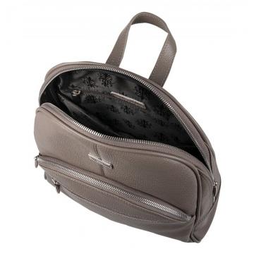 женский рюкзак для города кожаный (капучино)