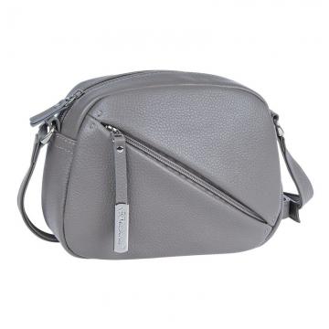 сумка женская через плечо из натуральной кожи (капучино)