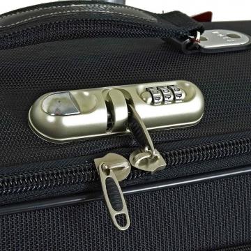 чемодан ручная кладь 423 черный