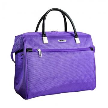 сумка-саквояж 233 фиолетовая