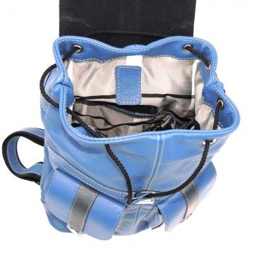 женский городской рюкзак из натуральной кожи