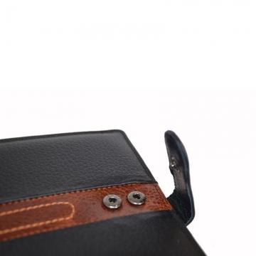мужское портмоне 3-в-1 с автодокументами и паспортом