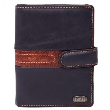 портмоне с автодокументами и паспортом кожаное (синий)