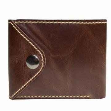 мужской кошелек ручной работы без монетника