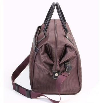 сумка-саквояж 232 коричневая