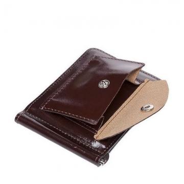 зажим для денег на магните (коричневый)