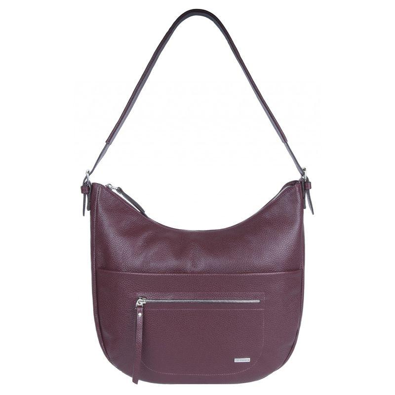 fe8414b44ef5 сумка женская из натуральной кожи 1-4263к-030 вишня. zoom Увеличить  изображение