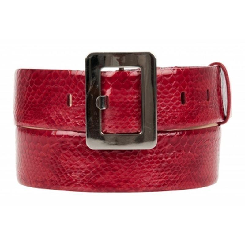 женский кожаный ремень 023-522-45(2)красн