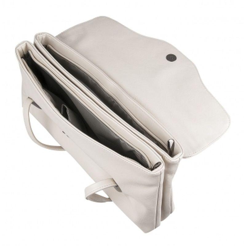 сумка женская из искусственной кожи 1-2898-034 бежевый