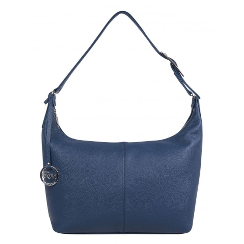 женская сумка кожаная 1-3761к-015 сапфир