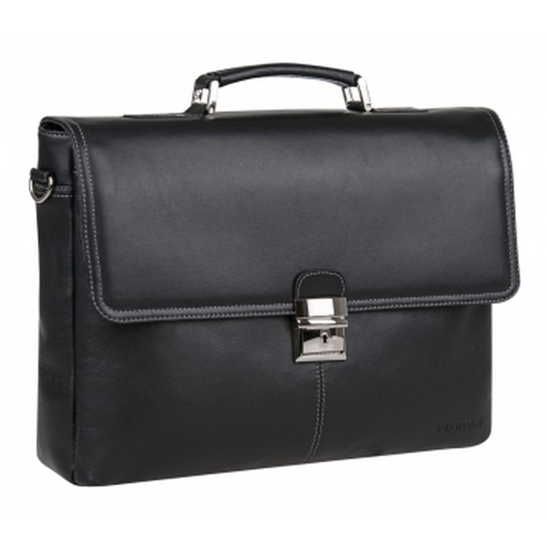 портфель мужской кожаный 2-776кFM1 аликанте