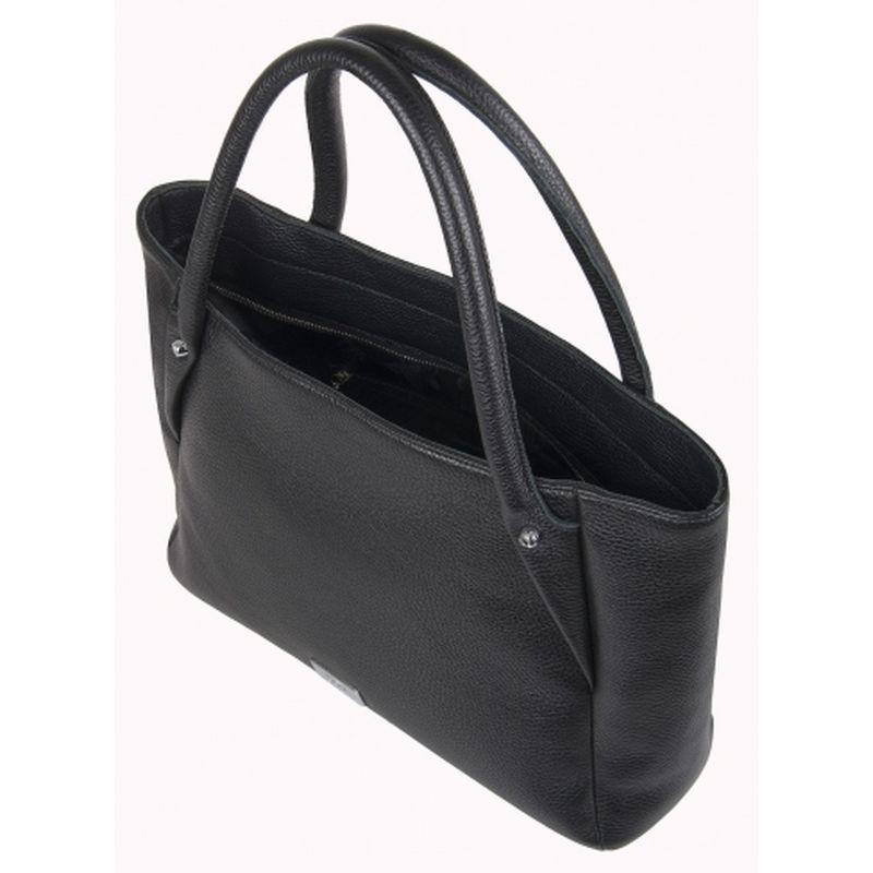 женская сумка кожаная 1-4131к-100 чёрный