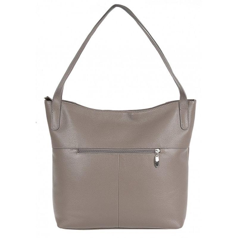 женская сумка кожаная 1-4107к-007 капучино