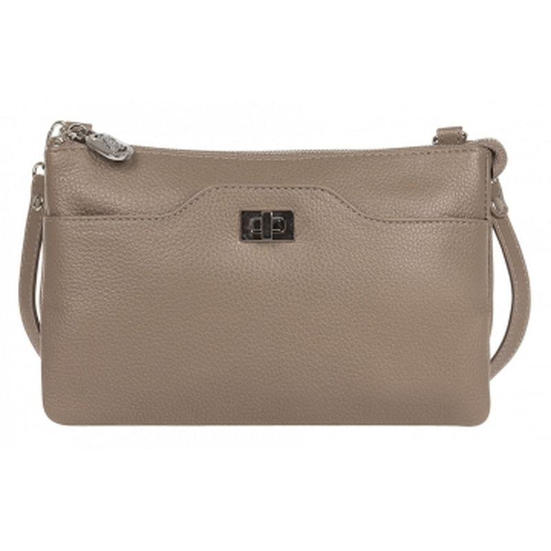 сумка женская из натуральной кожи 1-4175к-007 капучино