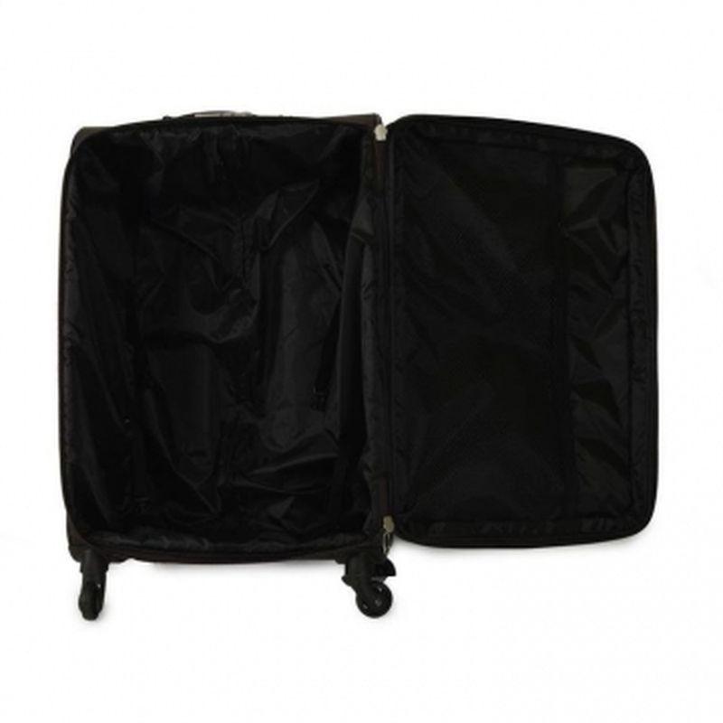 чемодан на 4-х колесах коричневый 88 литров