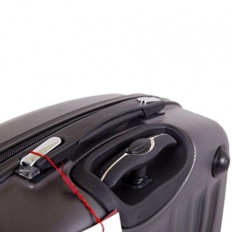 чемодан пилот кейс 419 темно-серый