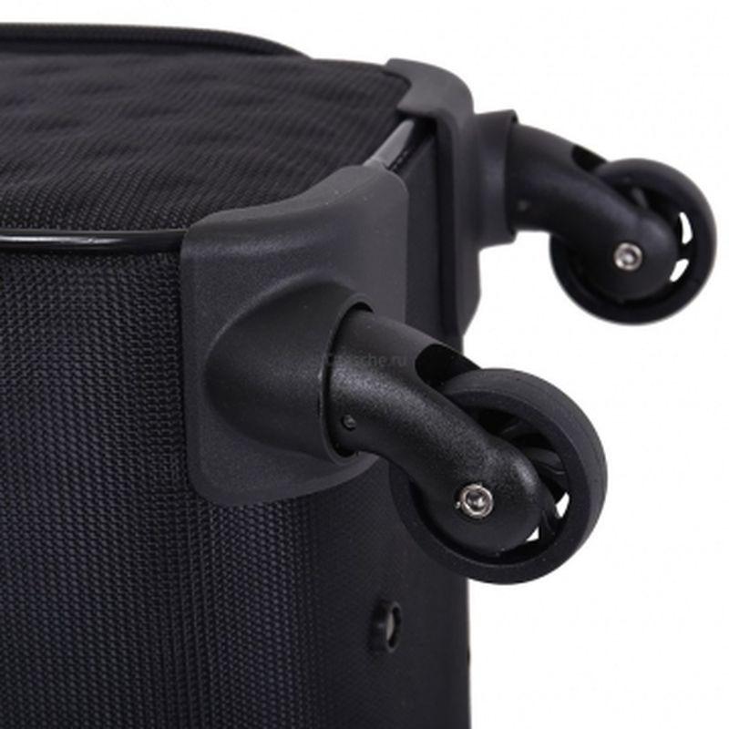 чемодан ручная кладь 433 черный