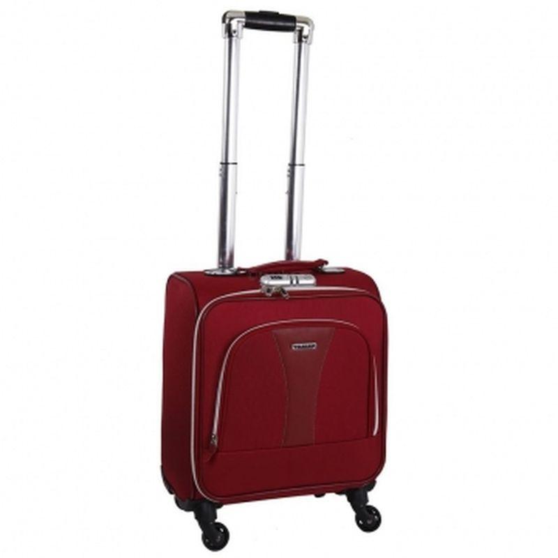 чемодан ручная кладь 433 красный
