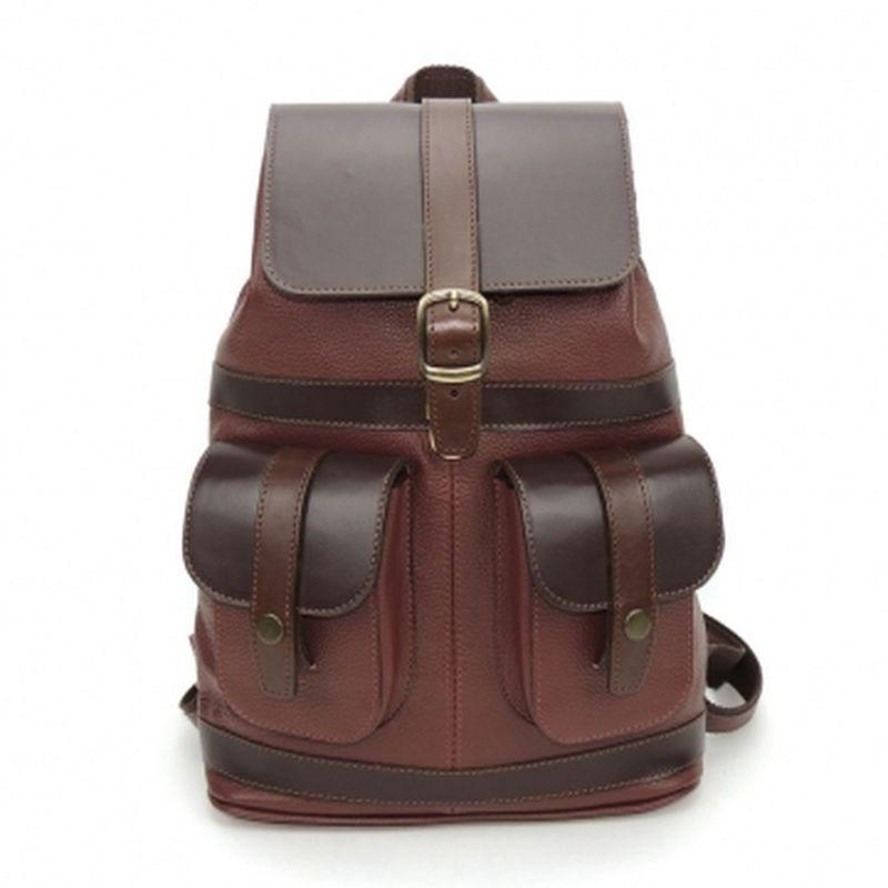 городской рюкзак из натуральной кожи р24-364