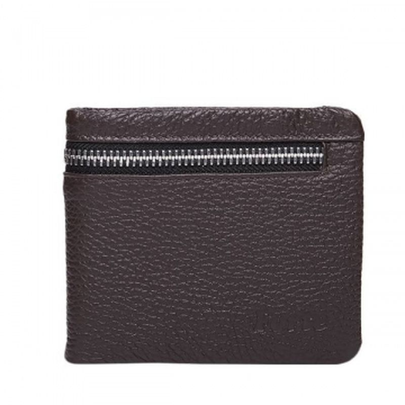 мягкий коричневый мужской кошелёк pm12-400