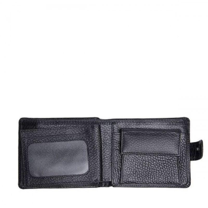 мужское портмоне классическое чёрное pm16-200