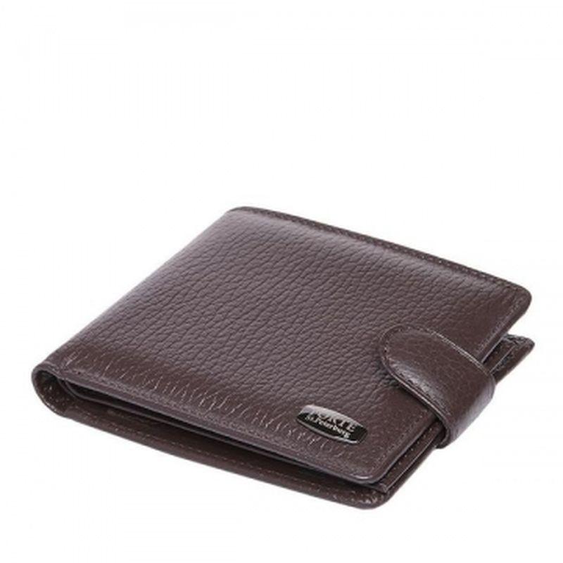 мужской кошелек классический коричневый pm16-400