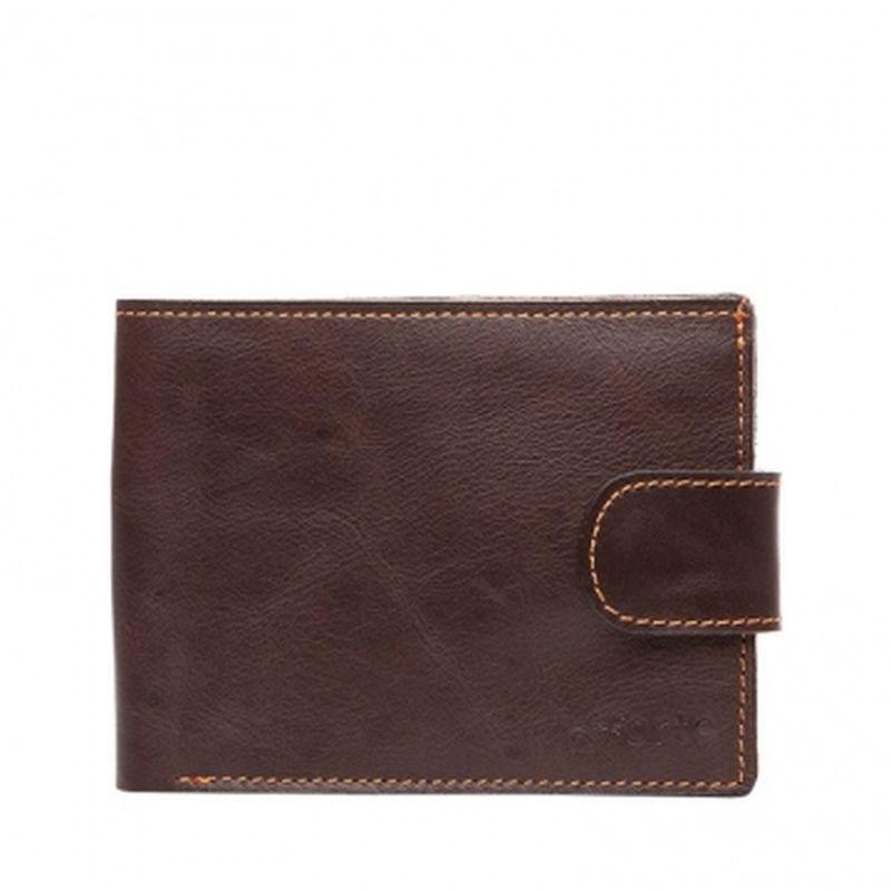 мужской кошелек на кнопке pm6-40