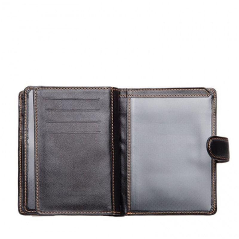 мужской кошелек с обложкой для паспорта тпп17-2 ТПП17-2