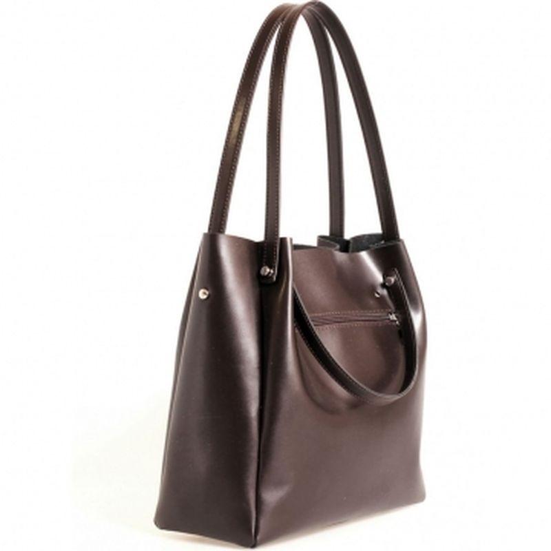 женская сумка формата а4 АН-43 шоколад