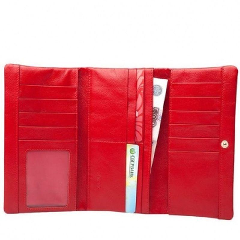 мягкий кошелек с 16 кармашками для карт пж 26-110/1000