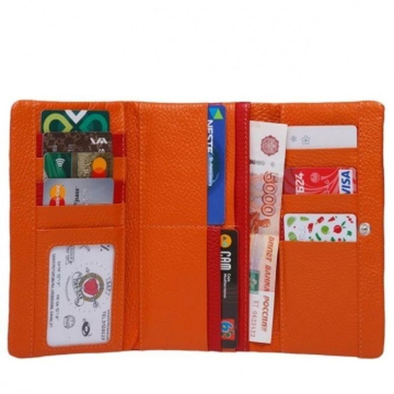 мягкий кошелек с 16 кармашками для карт пж 26-800/1000