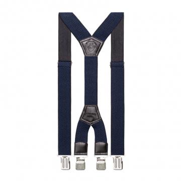 Подтяжки длинные ширина 4см синие