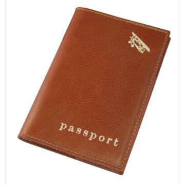 обложка для паспорта авиатика из натуральной кожи