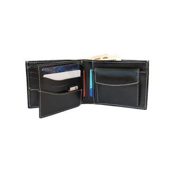 мужской кошелек с откидным карманом рубеж-3