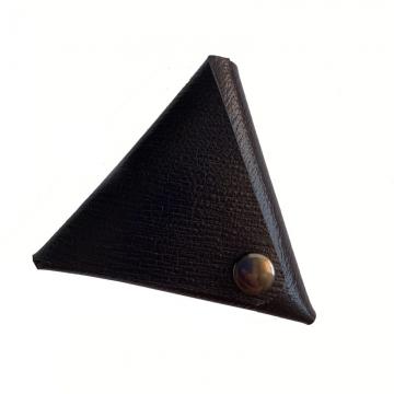 Треугольный кошелек для монет (чёрный)